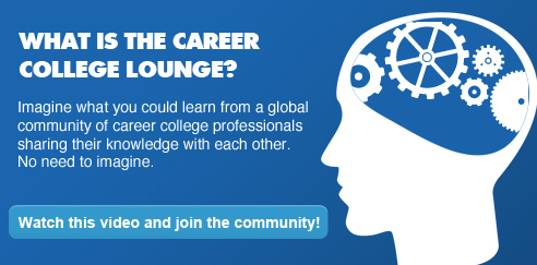 Career College Lounge: A Social Learning Community of Career College Professionals